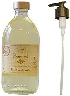 サボン(SABON) シャワーオイル パチュリラベンダーバニラ 500ml[並行輸入品]