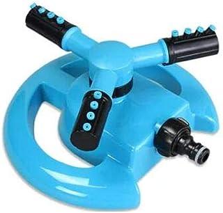 Aspersor de jardín ELEGANT YAY - Aspersor automático de césped 360 grados de 3 brazos Sistema de riego giratorio (sin cont...