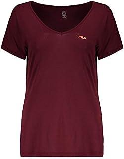 Camiseta Fila Dots Feminina Vermelha