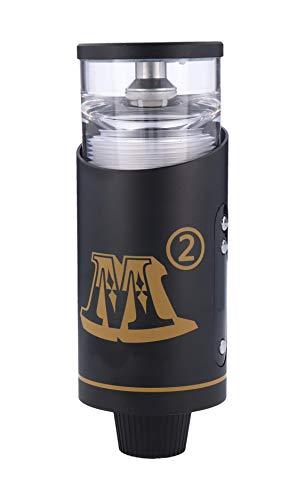 Kangerm, M2 E Hookah Set E Shisha 200W 20ml Tankvolumen elektronische Shisha, Schwarz