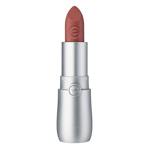 essence velvet matte lipstick, Lippenstift, Nr. 01 donuts go nut, nude, matt, vegan, ölfrei, ohne Alkohol (3,8g)