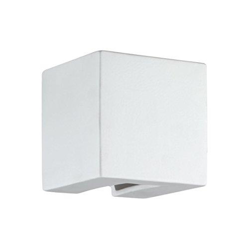 Kolarz céramique Appliques Murales/Cube en Blanc | Applique blanc | lampe G9