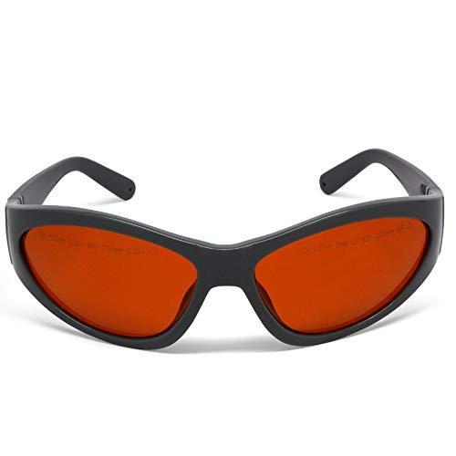 Preisvergleich Produktbild ZUEN 532Nm,  1064Nm Multi-Wellenlängen Laserschutzbrillen,  Laserschutzbrille Glassess Schutzbrille