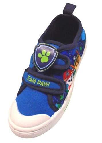 Zapatos de lona para niños oficiales de la Patrulla Canina de la Patrulla Canina para niños (talla 36-40), color Azul, talla 22 EU