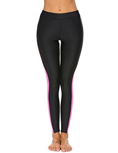 Ekouaer Women Swim Pants UV Sun Protective Long Surfing Leggings Rash Guard Swimming Bottom Active Sport Tights