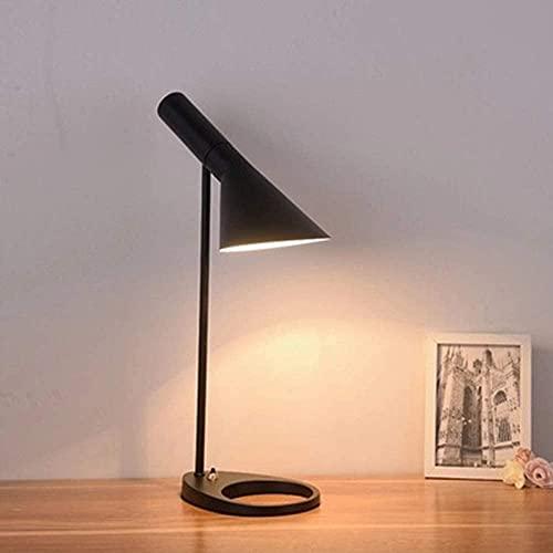 Lievevt Lámpara Escritorio Lámpara de Mesa de Noche de Dormitorio Moderno de Hierro Forjado Creativo nórdico Lámpara de Mesa de Moda para Escritorio de Estudio