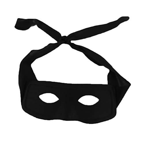Novelty Giant Black Superhero Villian Bandit Zolo Eye Mask