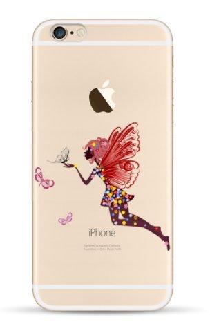 THEcoque Carcasa rígida iPhone 5C–Tansparente con Motivo Drole Design Case Incluye película de protección