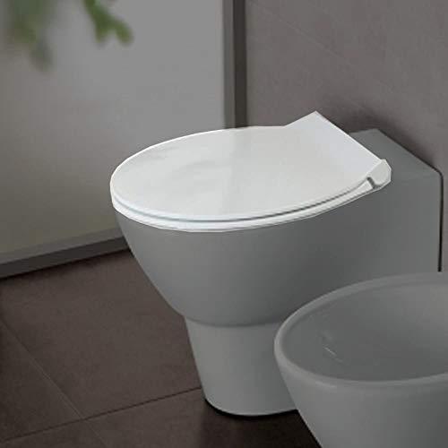 Copriwater coprivaso termoindurente a sgancio rapido per sanitari bagno Nido e Le Fiabe Hatria