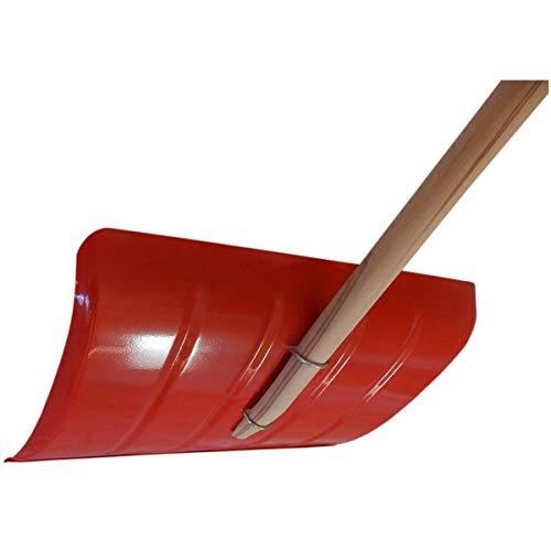SHW 54782 Schneeschieber Stahlblech 35 x 50 cm, Klemmfix, Alu-Profilkante - 4