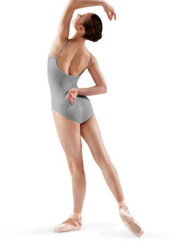Bloch Dance Damen Nejor Microlux Leotard, Grau, Größe M