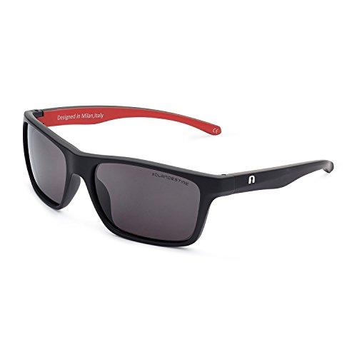 CLANDESTINE Square Matte Black R N - Gafas de sol de Nylon HD para Hombre & Mujer