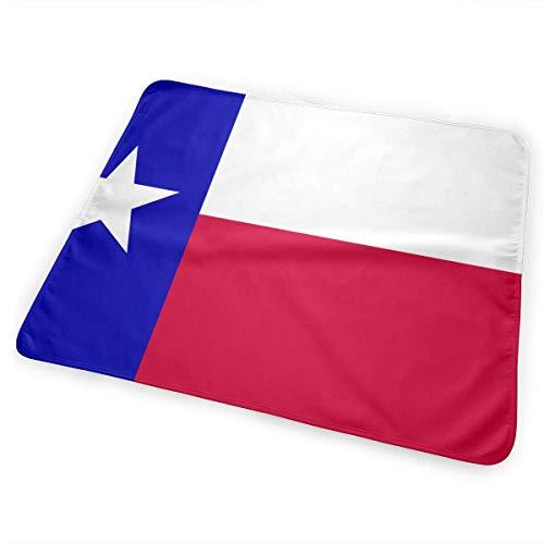 licht Saber DUN State of Texas Vlag Draagbare Verander Pad, Opvouwbare Pad met wandelwagen Band & Pocket voor Luiers & Wipes