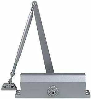 Dynasty Hardware 3000-ALUM Commercial Grade Door Closer, Size 3 Spring, Sprayed Aluminum