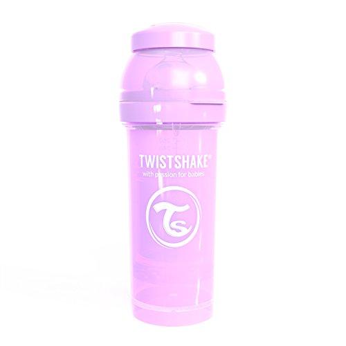 Twistshake 78258 - Biberón, color pastel morado