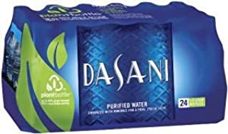 Dasani Water Bottled Drinking 16.9 Oz Bottles 24 Pack