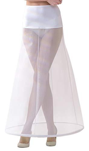 Lacey Bell Mujer Enaguas Larga con Cintura Elástica para Vestidos de Novia - Cancán Circunferencia 220cm - P2-220