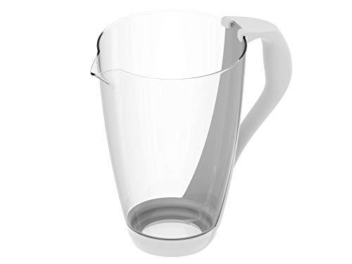 PearlCo Glas-Wasserfilter (weiß) - Ersatzkanne ohne Zubehör