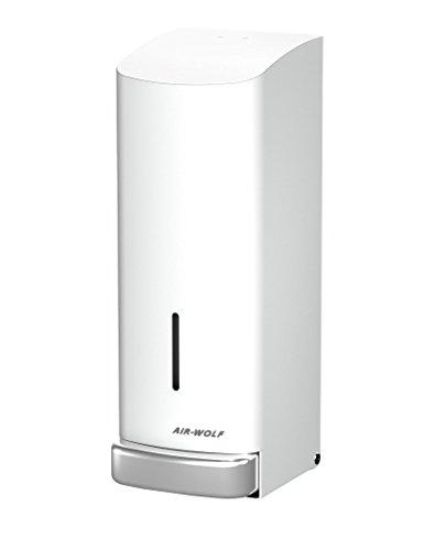 AIR-WOLF Seifenspender, 1200ml, Edelstahl weiß beschichtet, Serie Alpha
