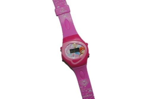 alles-meine.de GmbH Kinderuhr Disney Prinzessin Digital Uhr 5 Funktionen ! Armbanduhr Kind Kinder