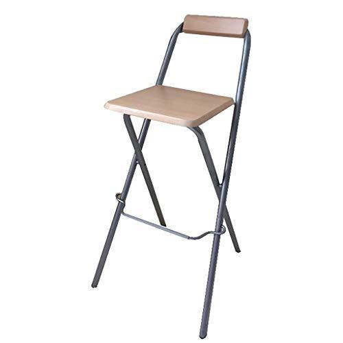 Faltbarer Frühstücksküche-Barhocker-Möbel-kompakter Hochstuhl Portable (Sitzhöhe: 70 / 75cm)