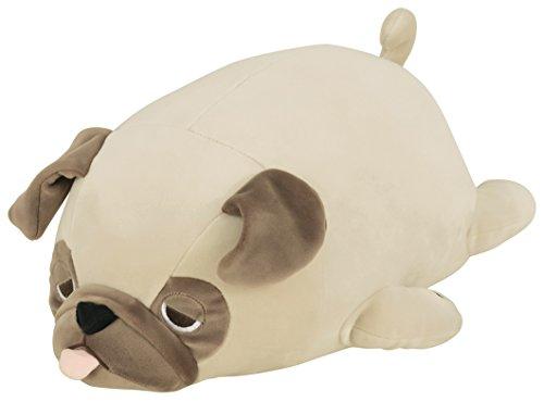 TROUSSELIER - Peluche Nemu Numu – Hana el Bulldog – Cojín de Peluche – Ultra Suave – Tamaño M – 30 cm