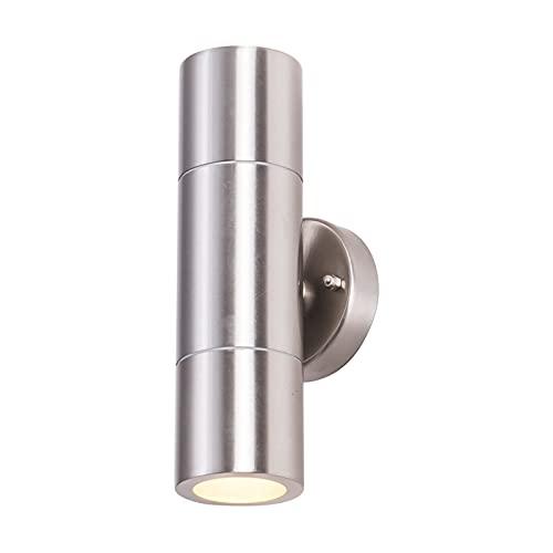 lámpara de pared Buena apariencia de acero inoxidable de acero inoxidable Lámpara de pared impermeable Moderna Luz de pared Decoración de la pared Luz de pared LED de jardín de iluminación de pórtico