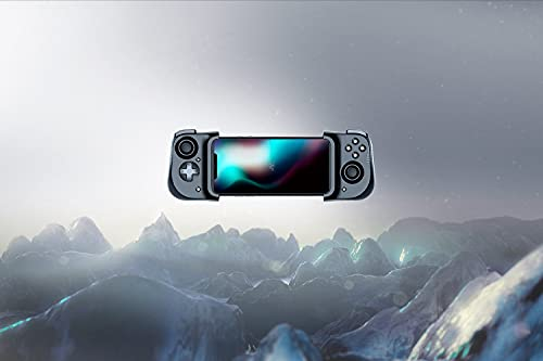 Razer Kishi para iPhone - Controlador de Juegos para teléfonos Inteligentes, conexión USB-C, diseño ergonómico, Ajuste Individual para teléfonos móviles, Dispositivo analógico, latencia Baja, Negro