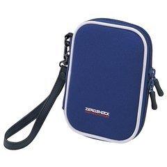 ZEROSHOCK Digital camera case (Long, Blue)