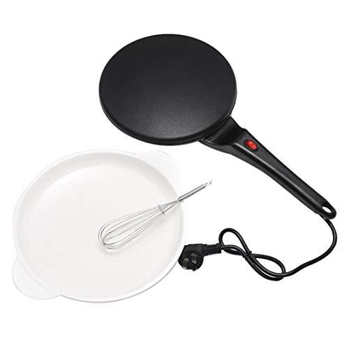 ZAHNG 220V Antihaft-Elektro-Crepes, Pizza Pancake-Maschine Griddle Backen-Wannen-Kuchen-Maschine Küche, die Werkzeug mit Ei-Klopfer
