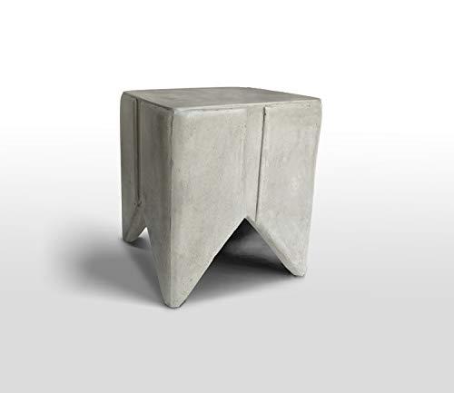 Meubletmoi bijzettafel sculptuur design van beton – modern design – tooth