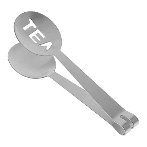 Koksi Teebeutelpresse, Zange, Teebeutel-Sieb, Kräutertee-Ei, Edelstahl, Teelöffel, Zucker-Clip, Bar-Werkzeug, Beutel-Sieb