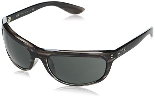 Ray-Ban 0RB4089 Gafas, STRIPED GREY HAVANA, 62 Unisex