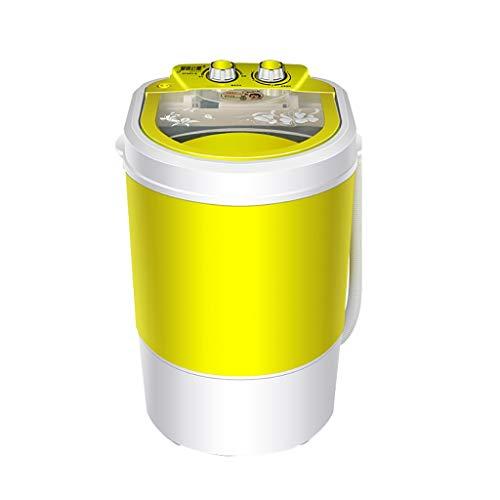 YXWxjy Waschmaschinen Mini Waschmaschine tragbare Waschmaschine Top Load halbautomatische Waschmaschine Abnehmbarer Wagen Kind Dehydration Waschmaschine, Desinfektion blau Waschkapazität - 4,5 kg