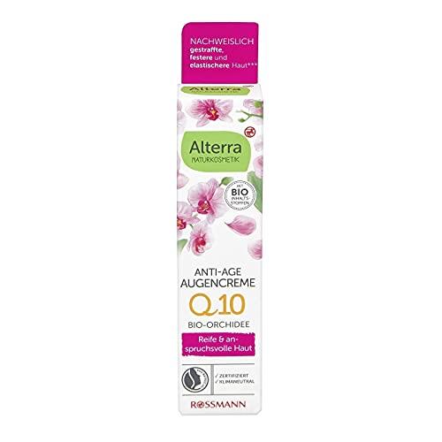 Alterra Crema de ojos antiedad orquídea 15 ml para pieles maduras y...