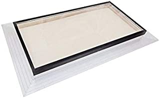 SIG Skylights FMB 13 ½ x 24 Deck Mounting, Self Flashed Glass Skylight w/Bronze Insulated Glass