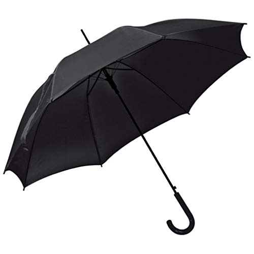 Automatikschirm - Regenschirm - Ø 100 cm (schwarz)