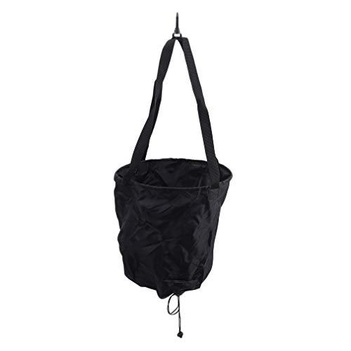 LWANFEI - Cinturones de entrenamiento de natación con paracaídas de natación, cuerdas elásticas de resistencia estáticas, Cinta, neopreno, tela de poliuretano., negro, As Description