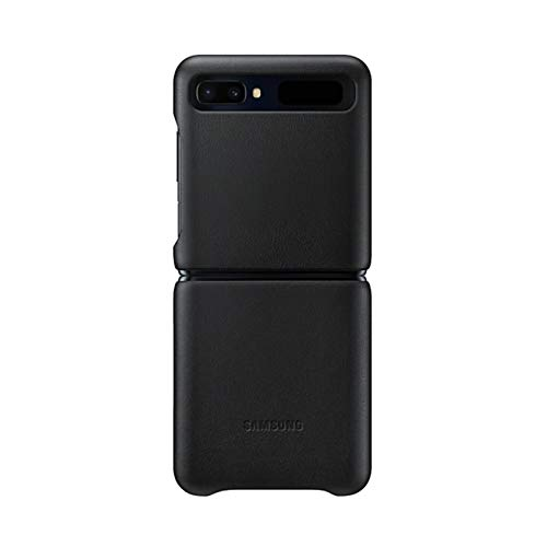 Samsung Original Leather Cover Galaxy Z Flip - Black