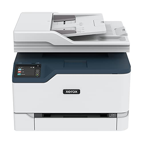 Xerox C235 Color Multifunction Printer, Print Scan Copy Fax, Laser, Wireless, All in One