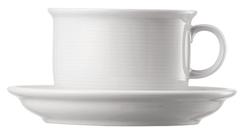 Thomas Trend - 6 x Cappuccinotasse 2-TLG, Weiß