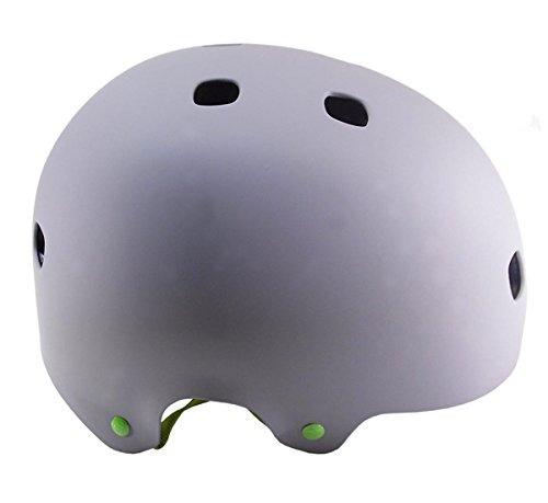 Bell Segment JR Mat Grey Green XS (48-53 cm) Casco de bicicleta...