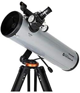 Celestron StarSense Explorer DX 130AZ Smartphone App Enabled Telescope Works with StarSense product image