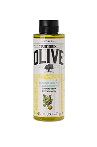 Korres Olive und Bergamot Duschgel, 1er Pack (1 x 250 ml)