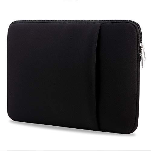 B2015 Laptop Sleeve Soft Pouch 15'' Laptop Bag Replacement for MacBook Air Pro Ultrabook Laptop Black