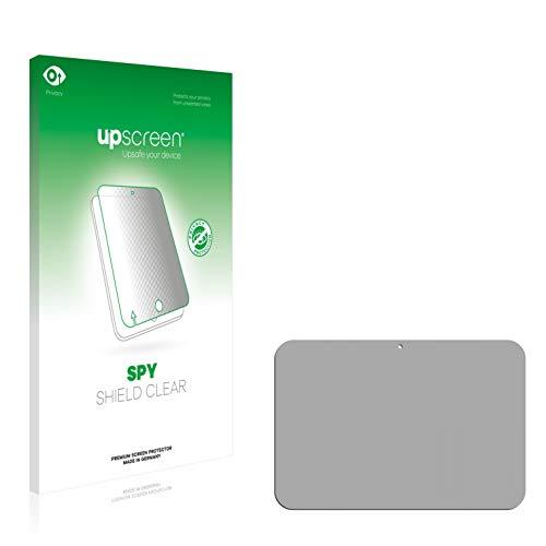 upscreen Anti-Spy Blickschutzfolie kompatibel mit Toshiba AT10-A Excite Pure Privacy Screen Sichtschutz Bildschirmschutz-Folie