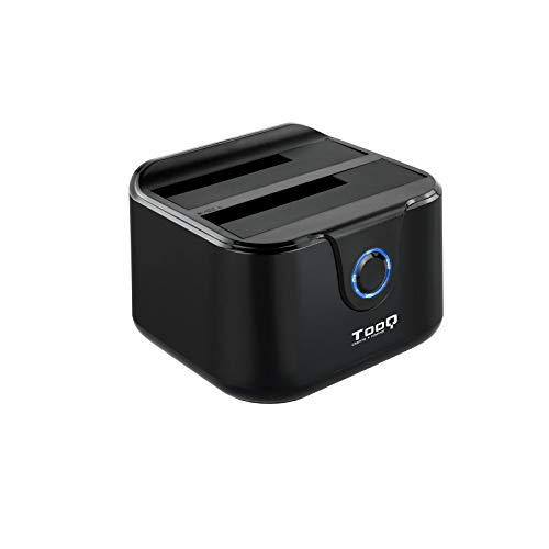 TooQ TQDS-802B - Base conexion Docking Station Doble