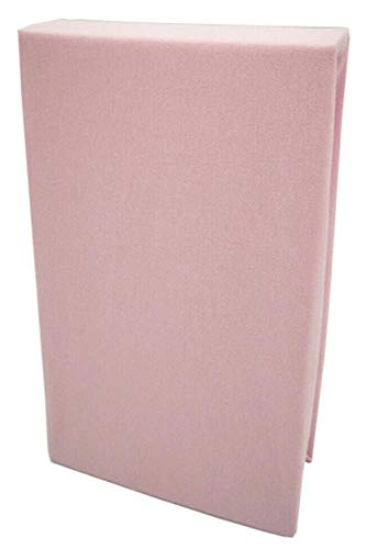 Schlafschön Premium Luxus Jersey Stretch Spannbettlaken 180g/m² Farben & Größen wählbar 90x200cm-100x200cm /140x200cm-160x200cm / 180x200cm-200x200cm (rosa, 180-200 x 200cm)