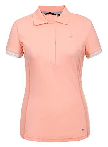 LUHTA Damen Polo-Shirt AIRA 39209-590 445 Coral/Funktions-Shirt, Größe:XXL