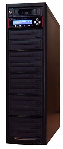 DVDデュプリケーター 1:10 業務用 HDD搭載(1TB) ビジネスPRO 日本語表示(漢字) 高性能ハイグレードドライブ搭載 DVD/CD コピー機